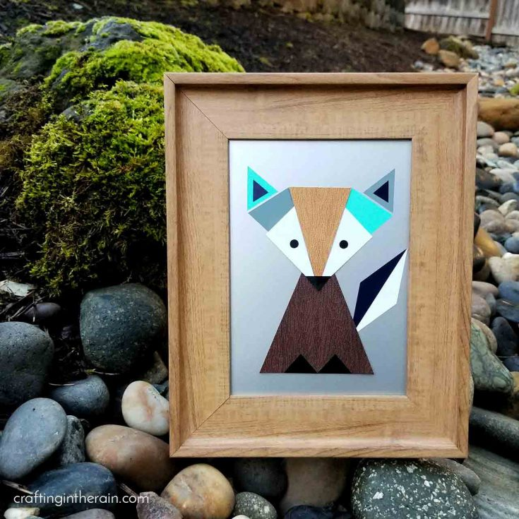 Geometric Fox Art