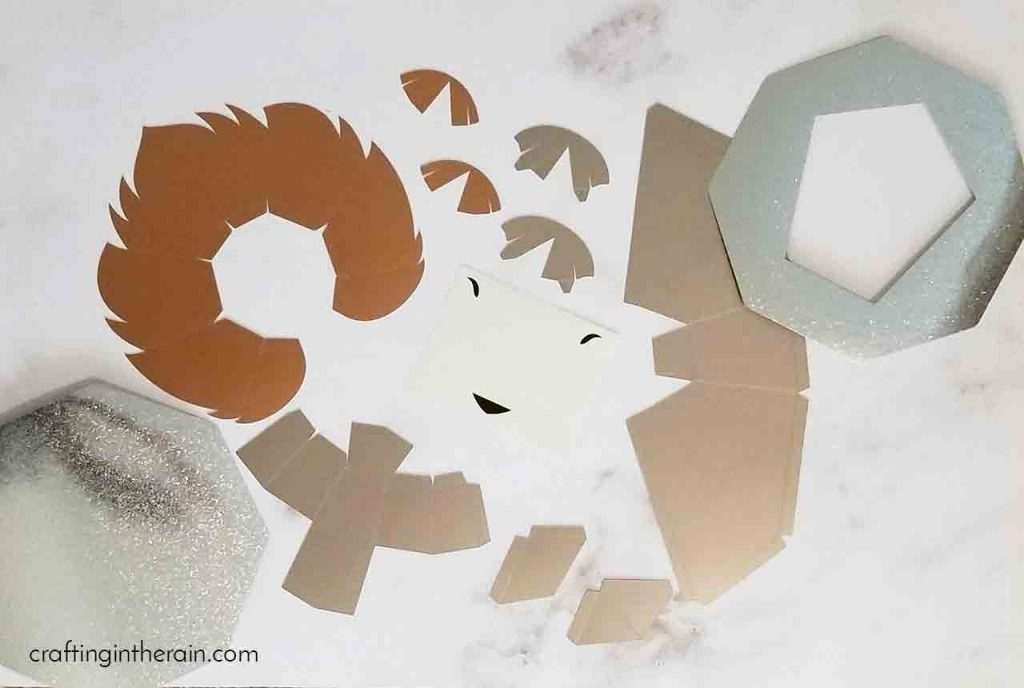 How to make 3D lion head