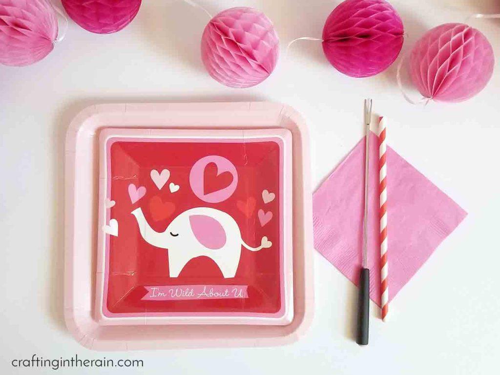 Oriental Trading Valentine party