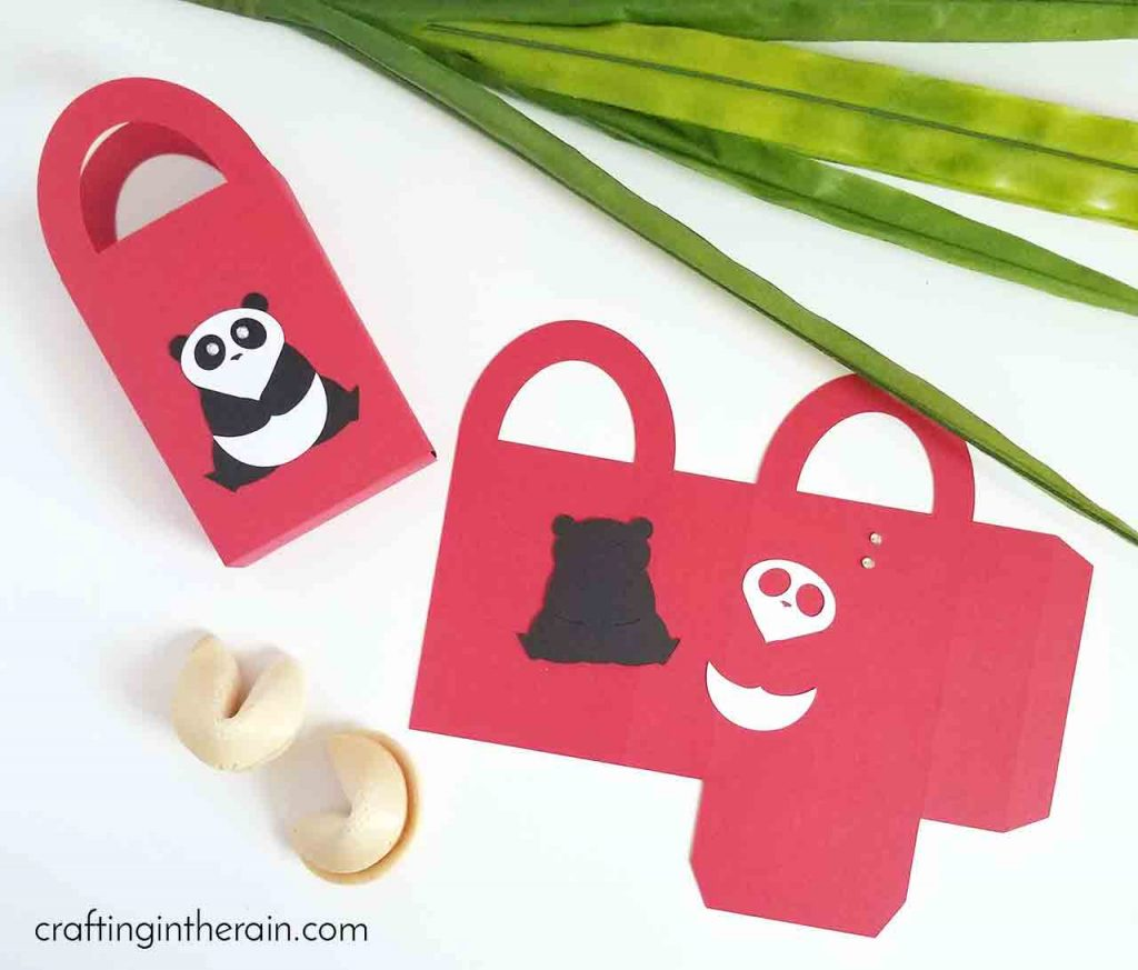 Panda Gift Box Cricut