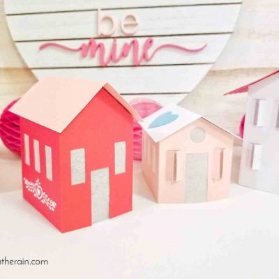 Valentine Paper Village