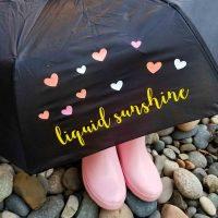 Vinyl on an Umbrella