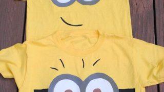 DIY Minion Shirt for Kids