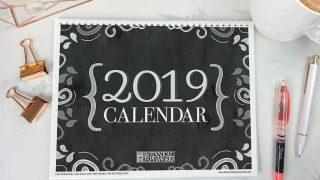 {free printables} 2019 Calendars