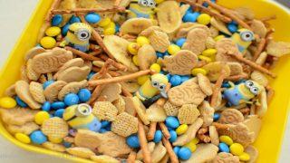 Minion Munch Snack Mix