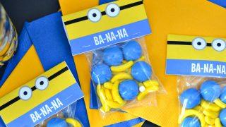 Minions Free Treat Printable: DIY Snack Bag