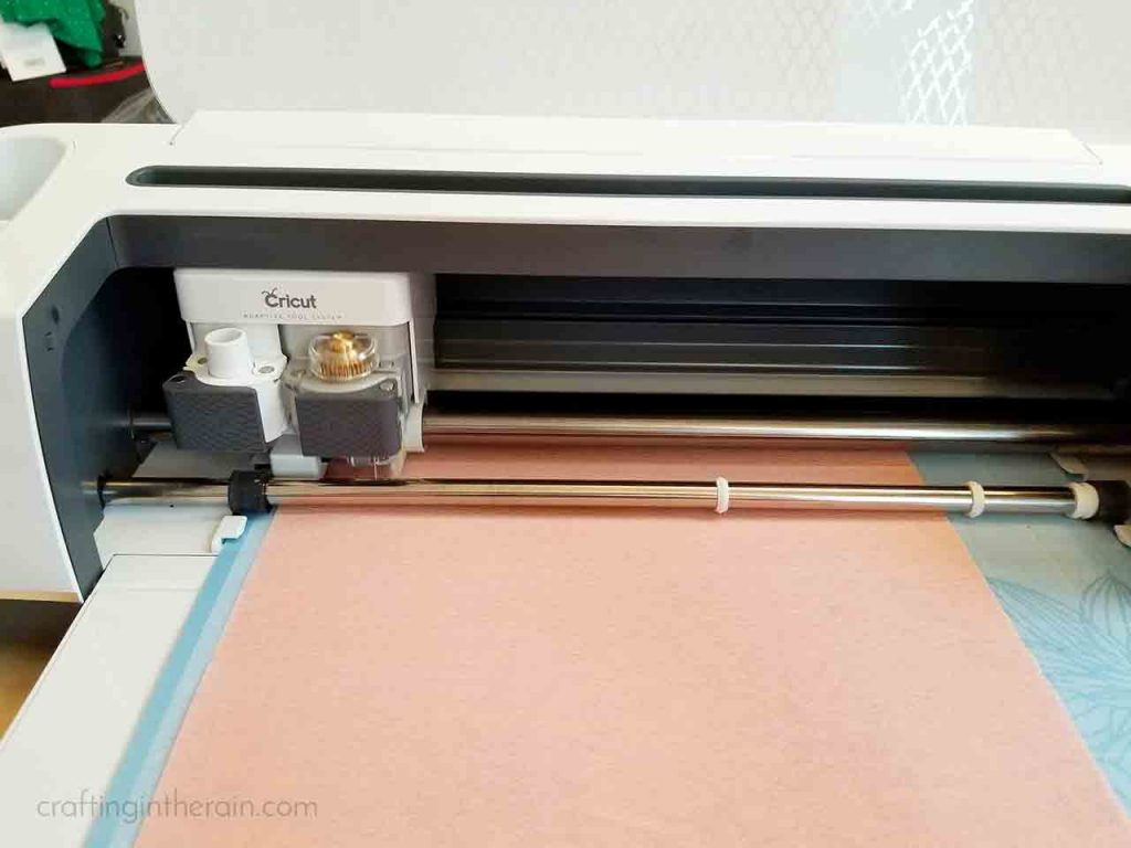 Cricut cutting crepe paper