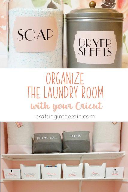 Laundry room organization ideas