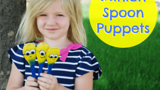 Make Minion Spoon Puppets to Find the 7th Minion