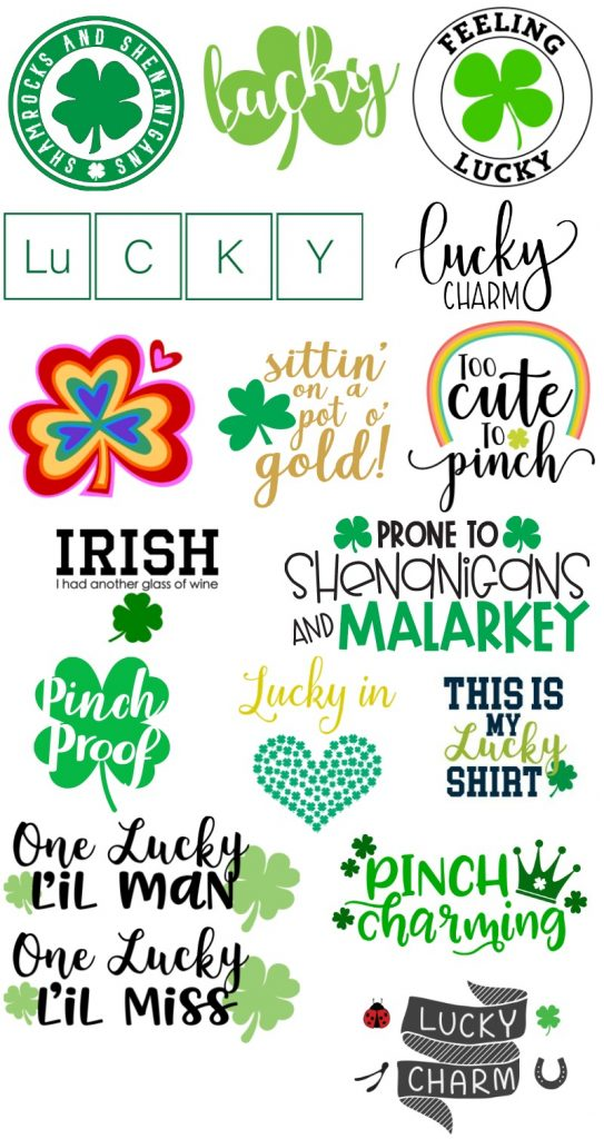 Free svgs for St Patricks Day
