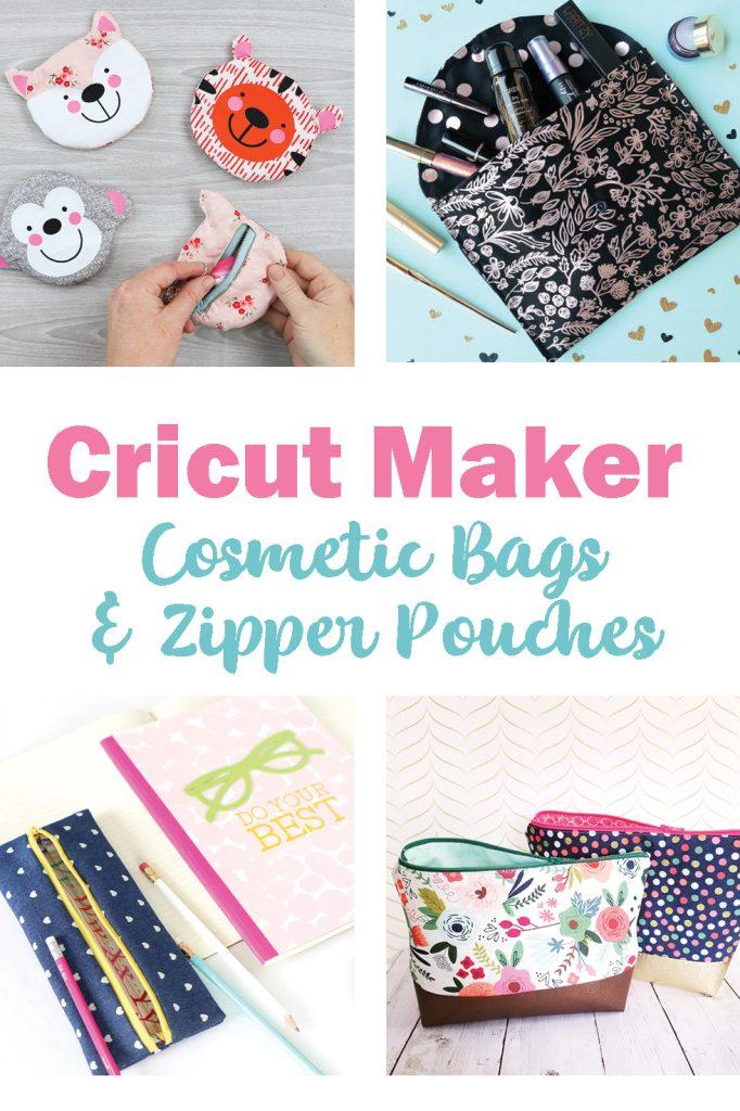 Cricut Maker cosmetic bag patterns