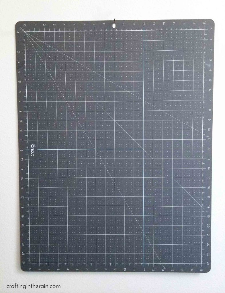 Cricut self healing mat