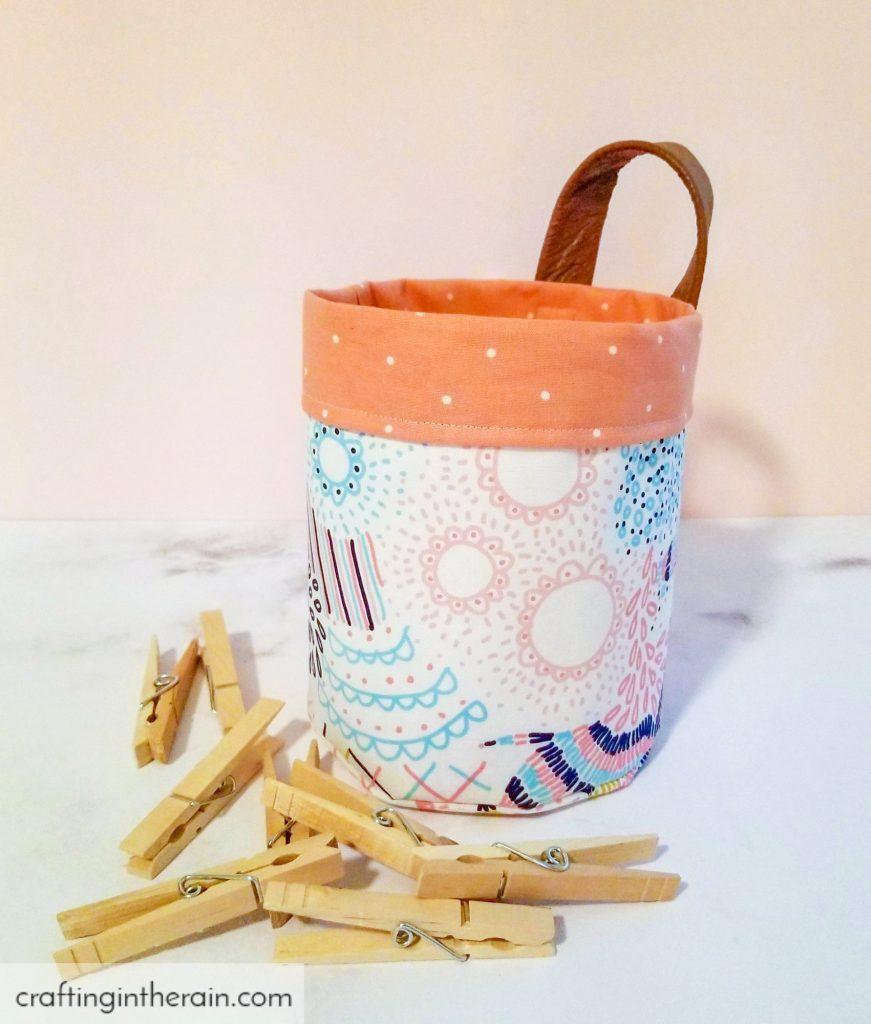 Cricut small circle basket