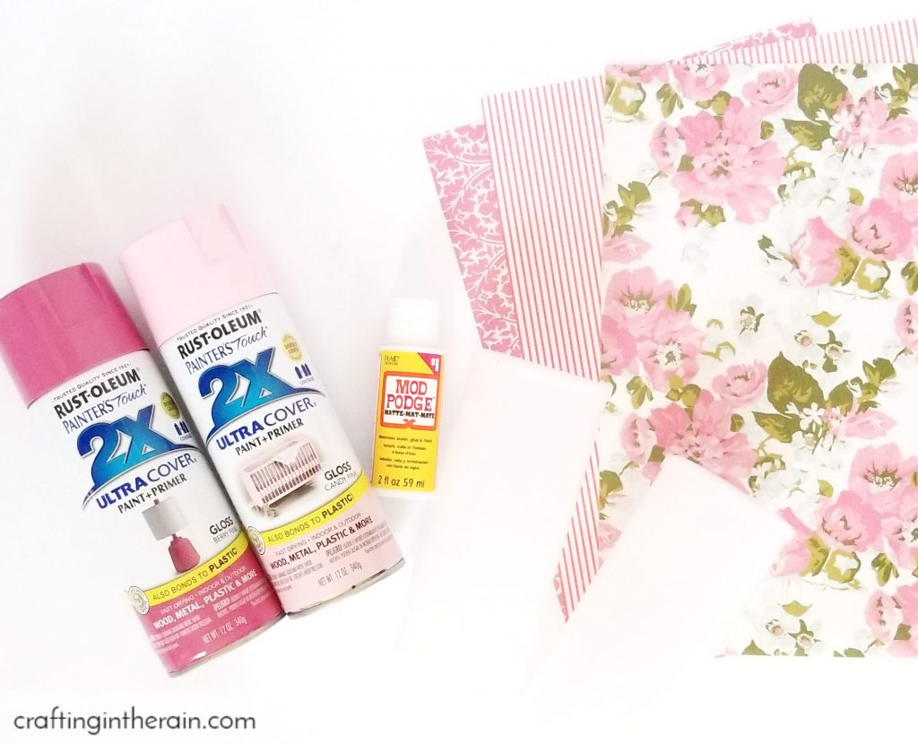 Decoupage washi paper