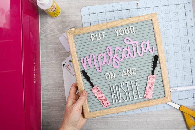 DIY letterboard words