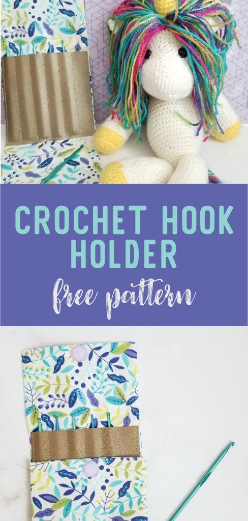 Free crochet hook pouch pattern