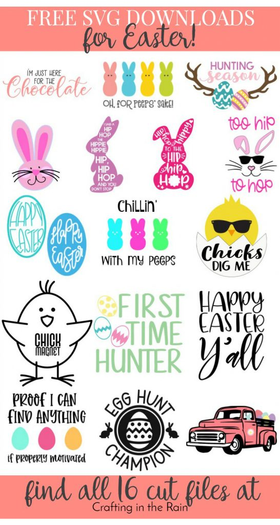 Free Easter SVG 2019
