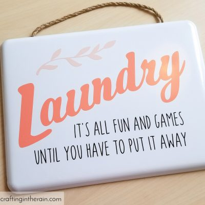 Funny Laundry Room Sign