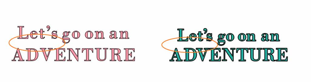 Line spacing in Design Space