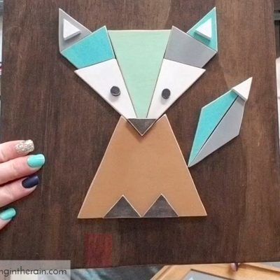 Modern Scroll Saw Fox Pattern