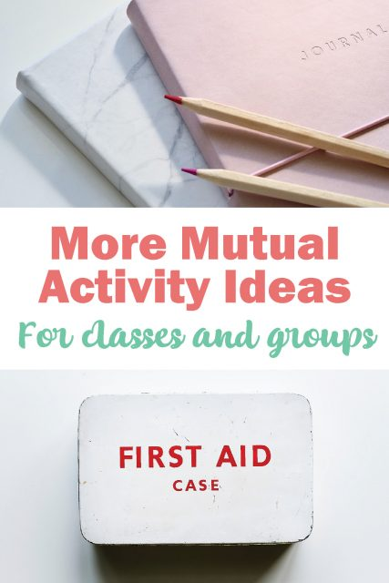 Mutual activity ideas