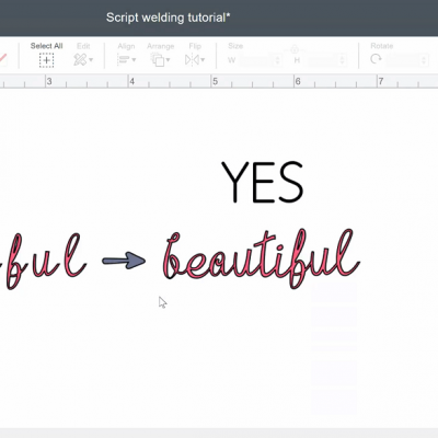 Right way to connect script fonts in design space