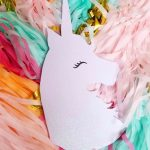 Glitter Unicorn Scroll Saw Project