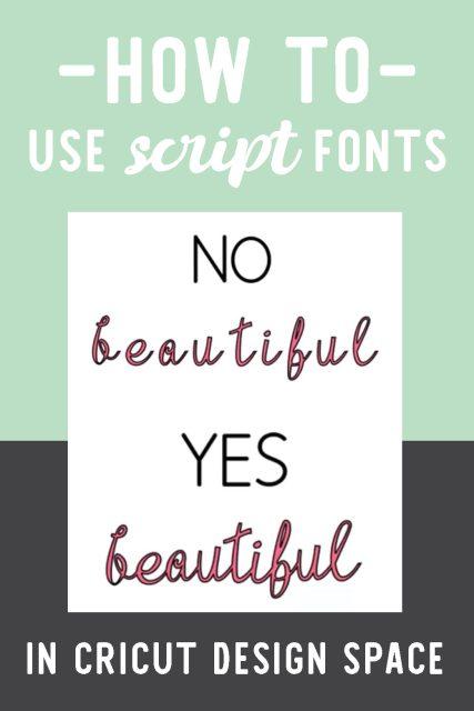 Script fonts in Design Space