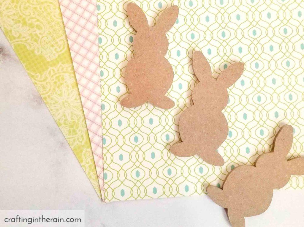 Spring bunny decor diy
