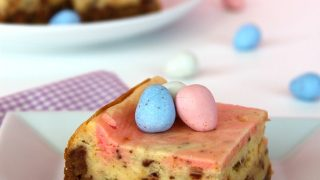 Cadbury Mini-Egg Cheesecake Bars