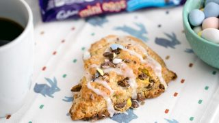 Cadbury Mini Egg Scones