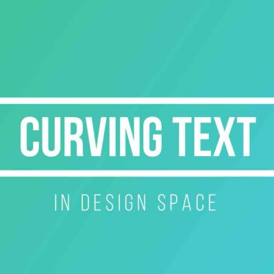 How to Curve Text in Design Space
