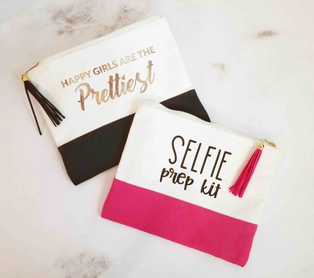 Custom makeup bags diy