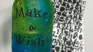 Decoupage Make A Wish Jar