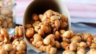 Honey Roasted Peanut Clusters