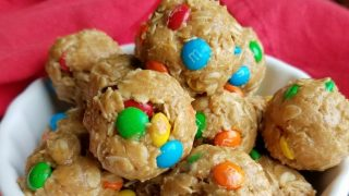 No-Bake Monster Cookie Bites