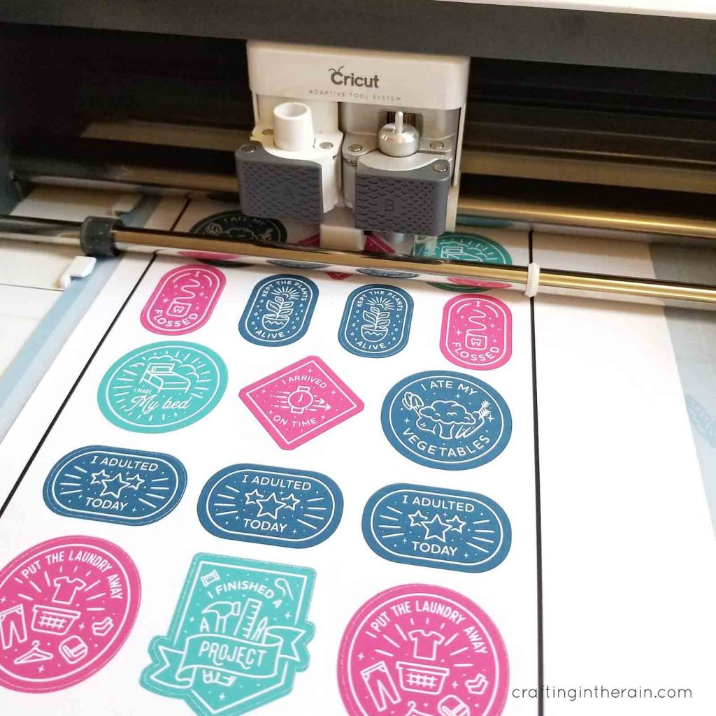Cricut print then cut