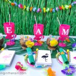 Flamingo Luau Summer Party