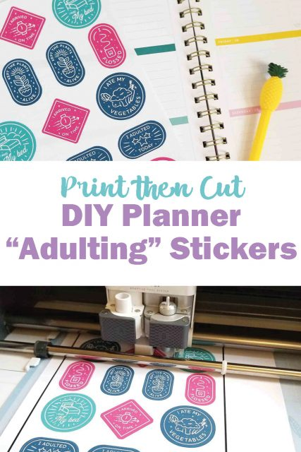 How to Print then Cut Cricut - Crafting in the Rain