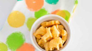 Homemade Cheese Animal Crackers