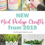 29 Mod Podge Crafts New in 2019
