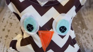 Homemade Owl Microwave Heating Pads