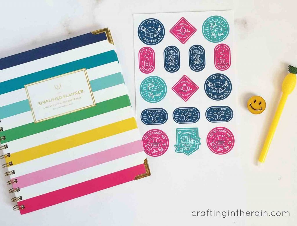 Print then cut Cricut sticker