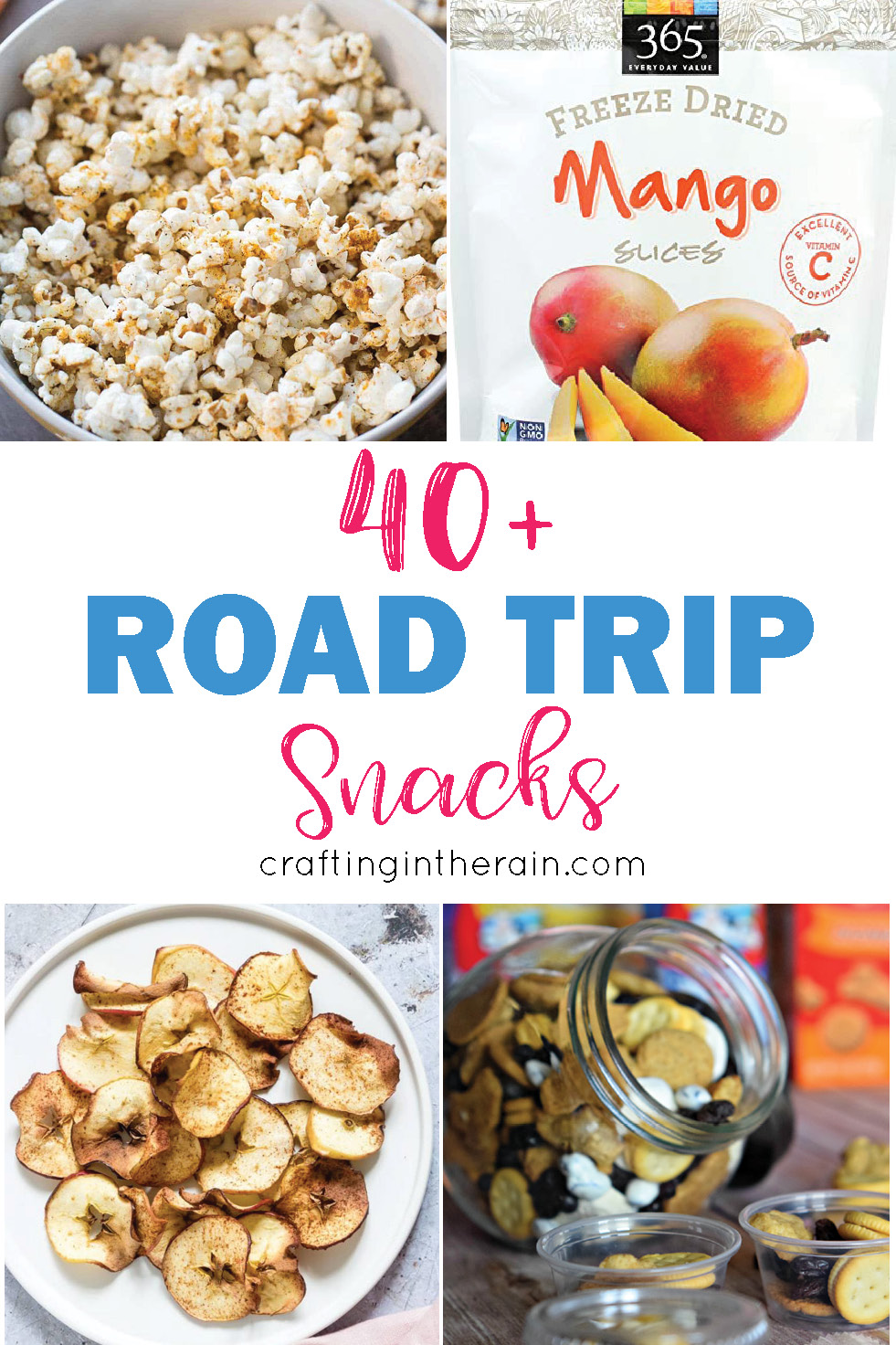 43 Road Trip Snacks Crafting In The Rain