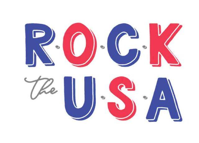 Rock the USA svg