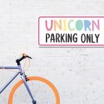 Unicorn Parking SVG