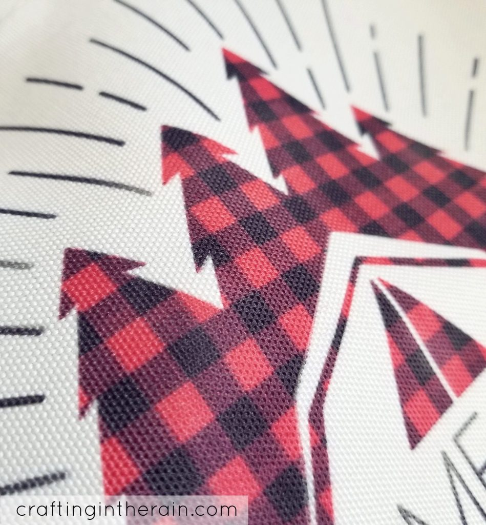 infusible ink plaid pattern