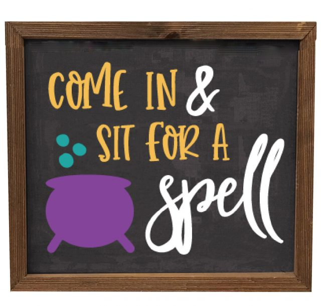 Sit for a spell svg