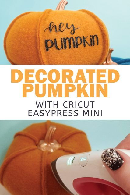 decorate pumpkin with htv