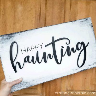 Happy Haunting SVG